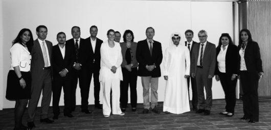 InteriorPark. mit Wirtschaftsdelegation in Katar