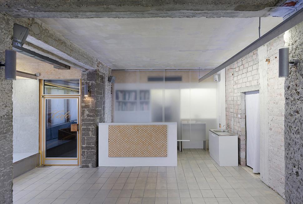 Umbau Bäckerei zur Galerie AK2
