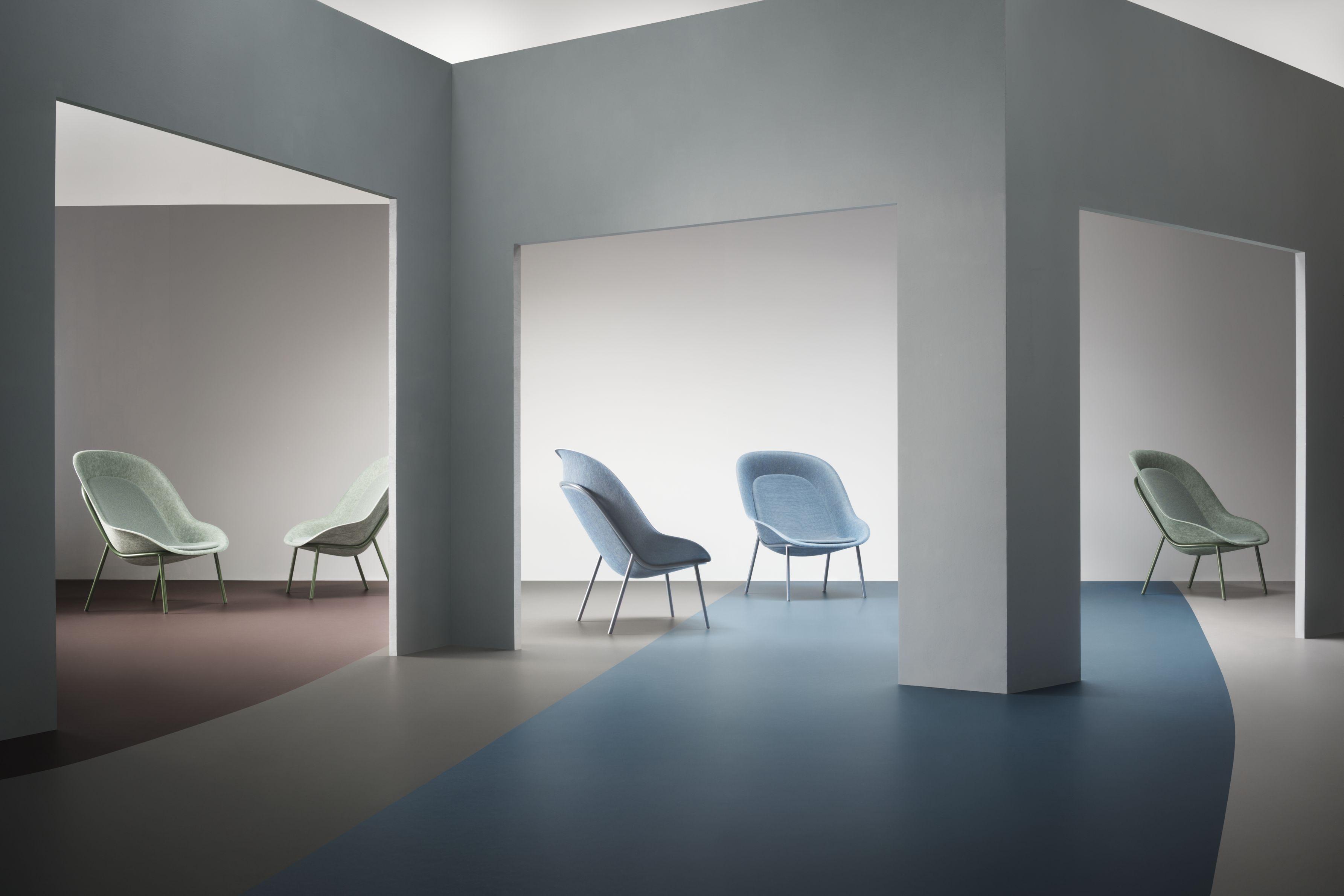 Forbo linoleum bodenbelag marmoleum walton interiorpark